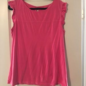 EUC XL neon pink Lilly Pulitzer tank top